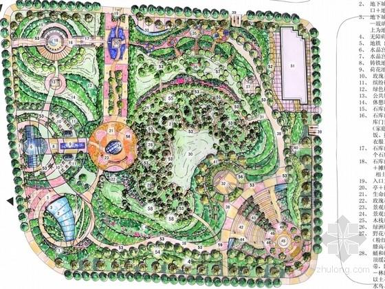 [上海]主题区公共绿地景观规划设计方案