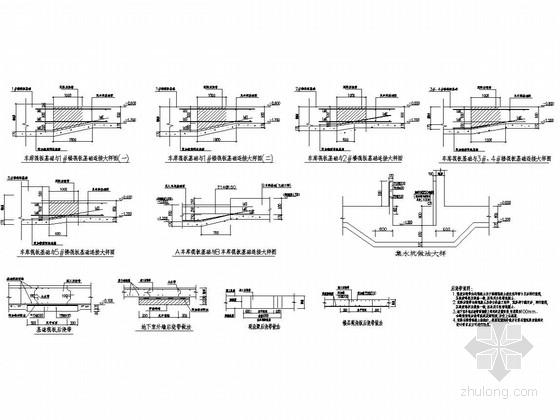 框架结构地下车库结构图(387个车位)