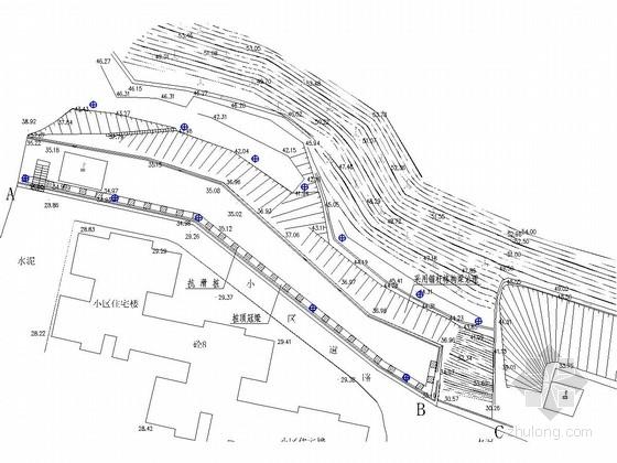 [广东]锚杆加格构梁及抗滑桩边坡治理施工图(含计算书)
