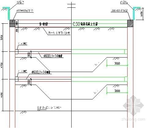 [广东]19米深基坑开挖支护施工方案