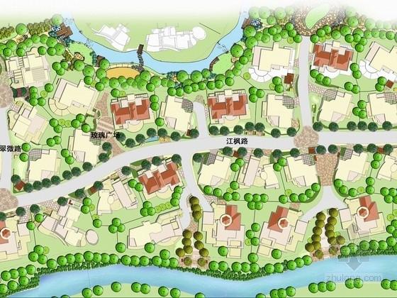 [上海]城郊别墅区景观深化设计方案