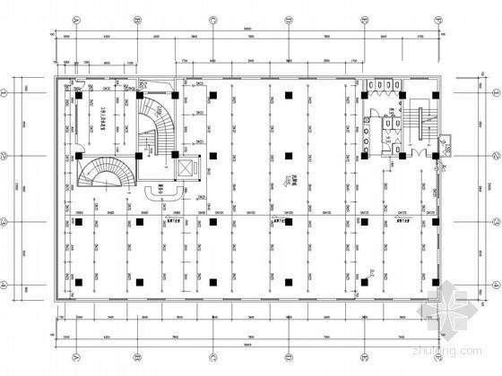 七层洗脚城及招待所给排水施工图(太阳能热水)