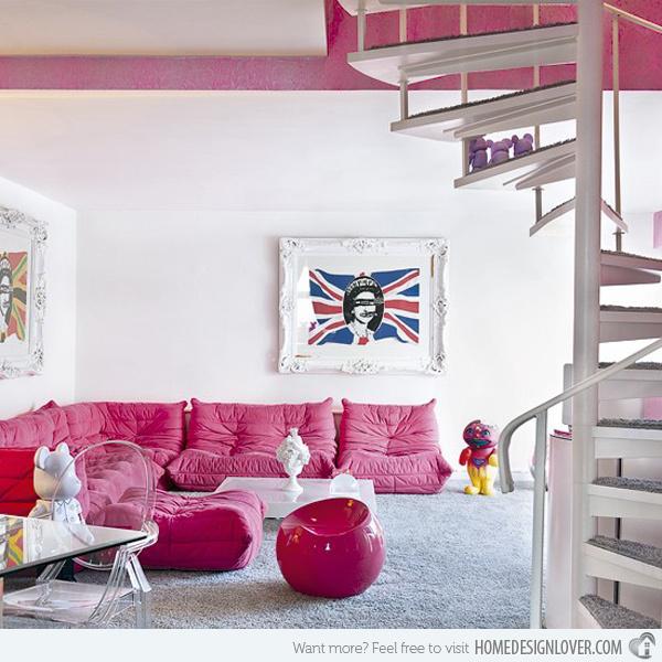 20个时尚的客厅装修设计案例_10