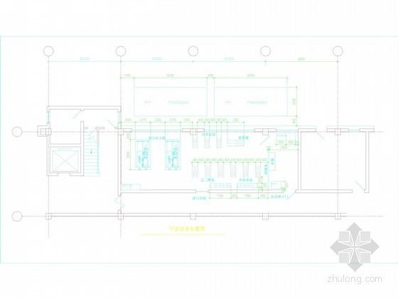 [上海]冰蓄冷空调机房工程系统设计施工图