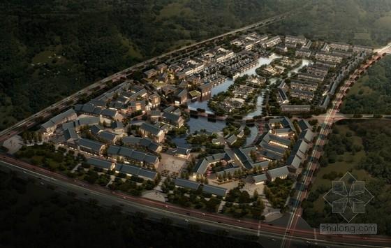 [四川]传统中式风格商业及住宅区规划设计方案文本