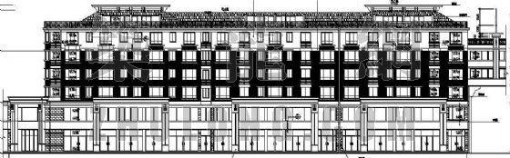 某细致完整的住宅建筑施工图