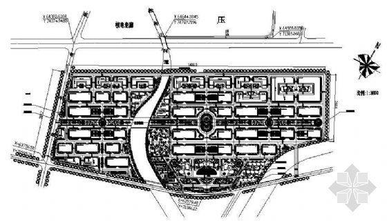 某大型工业园规划平面图