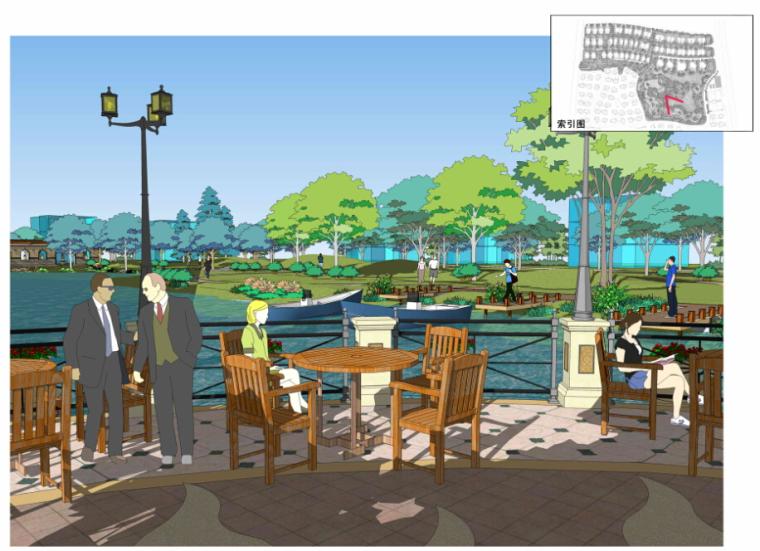 [北京]生态奢华居住区景观规划设计文本