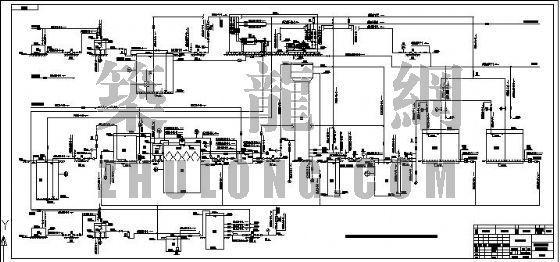 uasb工艺流程图资料下载-某制药废水流程图
