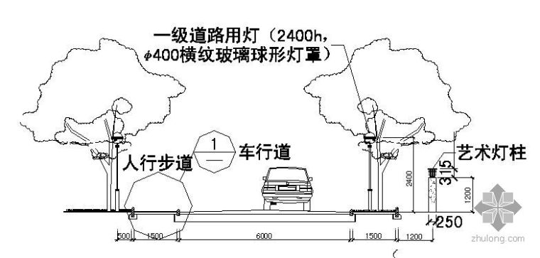 车行路和人行路标准做法
