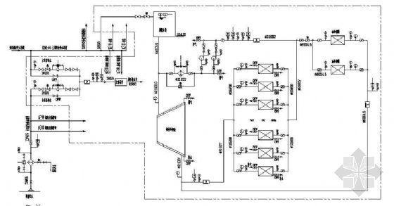 某水电站技术供水系统示意图