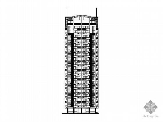 [福建]莆田某十九层一梯二、底层架空、顶层复式住宅建筑施工图