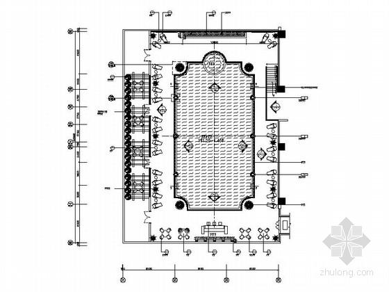 [重庆]某五星级酒店六层游泳池施工图