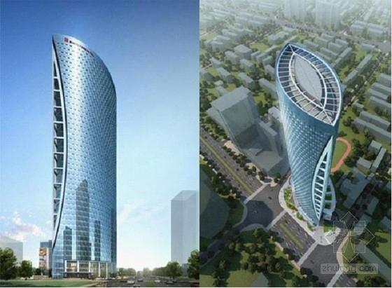[成都]47层单塔超高层办公楼、酒店结构施工图(地下五层)
