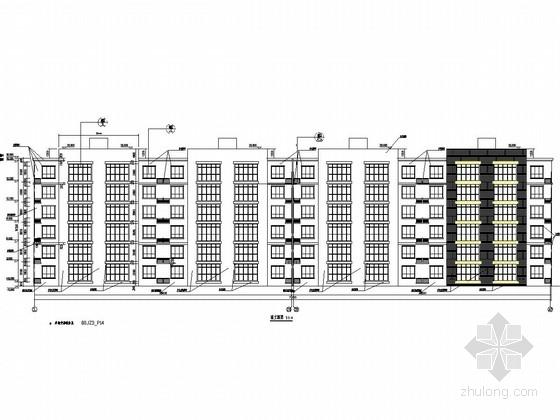 [北京]六层剪力墙结构干休所结构施工图(含建筑图)
