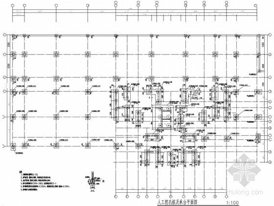 [湖南]32层框剪结构商住楼结构施工图
