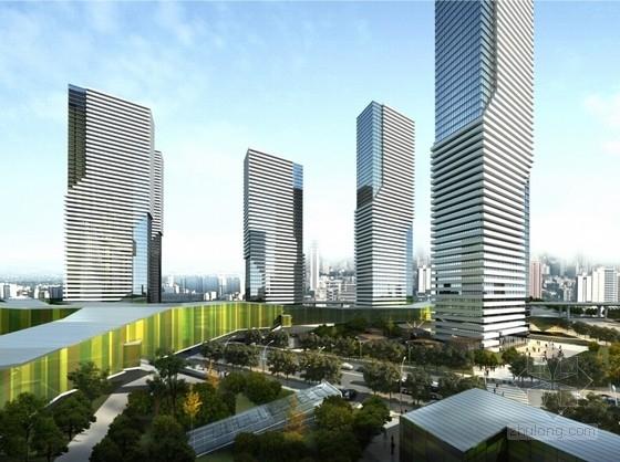 [武汉]开敞式小区景观规划设计方案