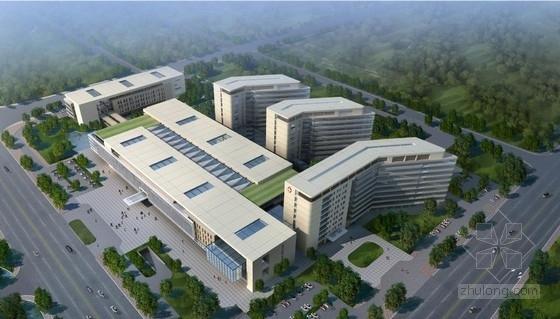 [福建]单元模块化灵活性综合性市级医疗建筑设计方案文本