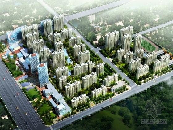 [安徽]超高层住宅及商业建筑设计方案文本