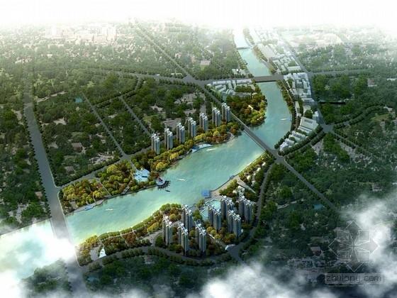 [安徽]滨河城市两岸景观规划设计方案