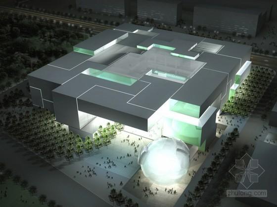 [北京]某国家级科技馆建筑设计文本(含设计说明)