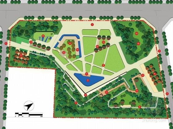 特色主题公园景观文本资料下载-[成都]健康休闲主题公园景观设计方案