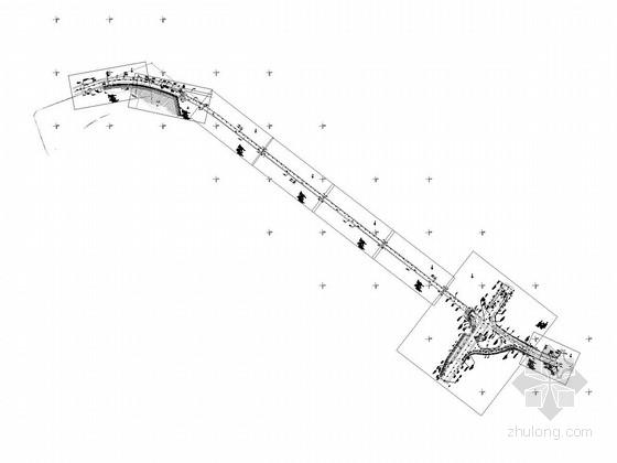 [重庆]市政道路工程图纸CAD全套466张(含桥隧交通设施)
