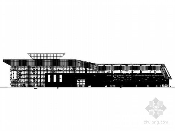 [苏州]五层汽车站综合客运枢纽建筑施工图