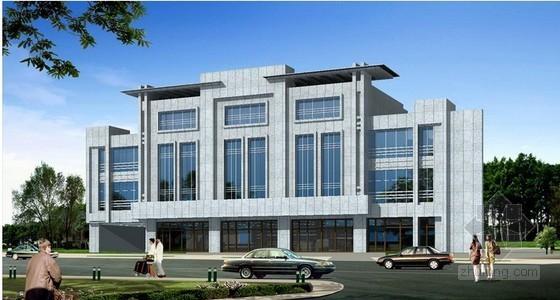 [毕业设计]办公楼建筑装饰工程投标文件商务标编制(全套清单报表)120页