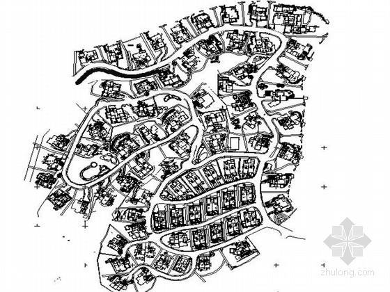 [南京]高档大气别墅景观规划设计施工图