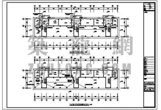 多层等电位联结平面