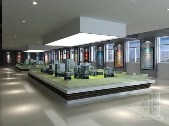vr展厅3d模型资料下载-展厅3d模型下载