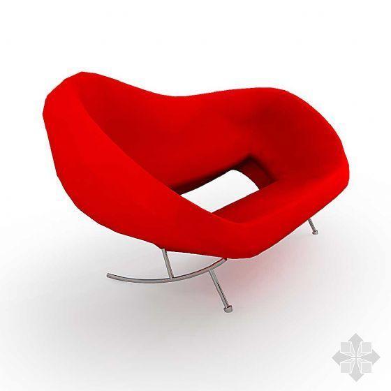 vr建筑渲染教程资料下载-单人沙发