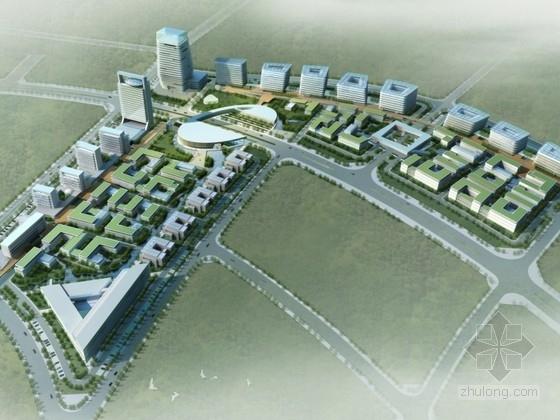 [珠海]某城市综合体规划及单体设计方案文本(含cad)