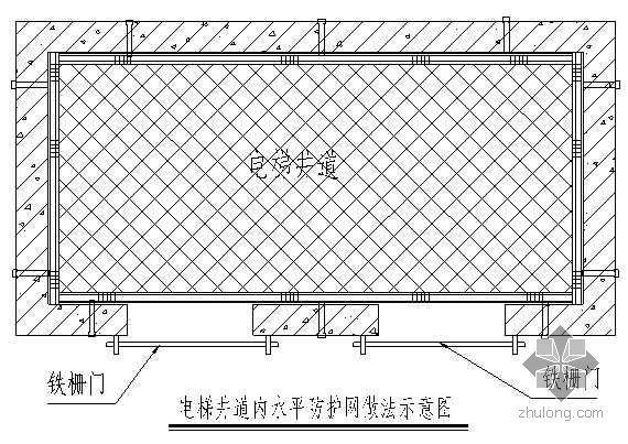 重庆某高层住宅工程安全防护措施(四口五临边 附图)