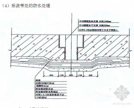 成都某高层住宅小区工程施工组织设计(剪力墙结构)