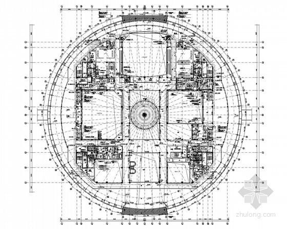 [杭州]大型会展中心强电系统施工图纸