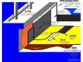 倒置式屋面防水做法详图(渗耐空铺系统)