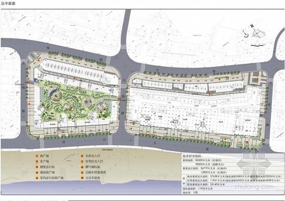 [宜昌]商业区广场景观方案深化设计
