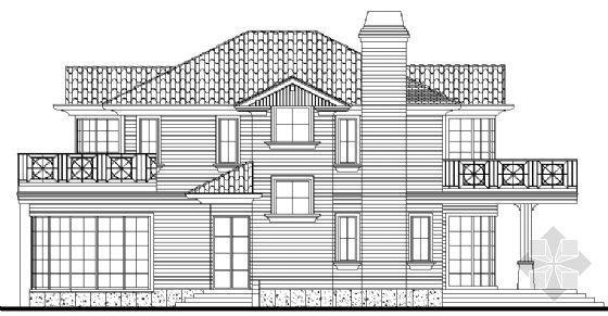 某二层别墅建筑、结构图纸