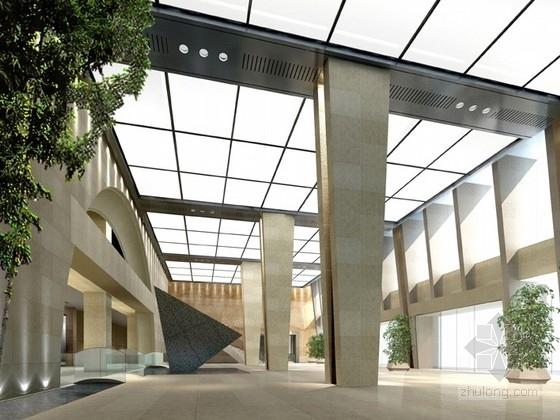 [北京]国家重点水利集团公司现代办公楼装修设计方案
