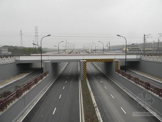 [广东]市政设施下穿铁路通道桥涵工程施工组织设计60页