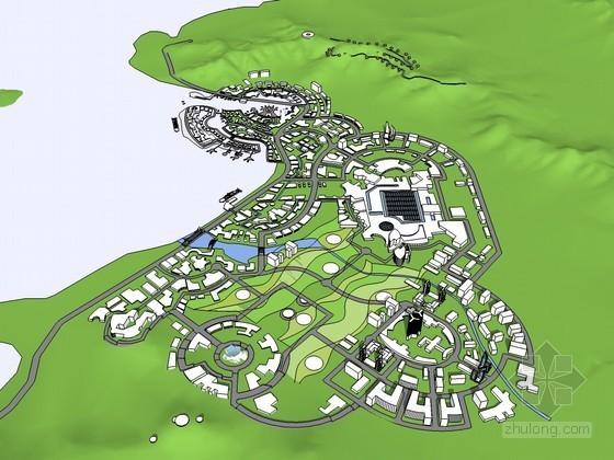 某海湾规划
