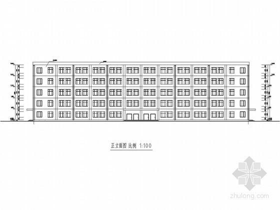 [学士]五层框架结构中学教学楼毕业设计(含建筑图 结构图 计算书)
