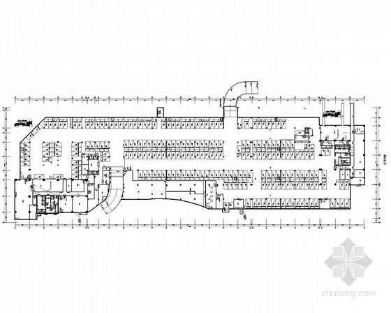 [上海]大型智能商业办公楼全套电气施工图纸106张(含给排水及计算书)