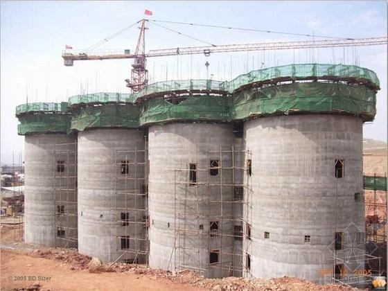 江苏某水泥厂粉磨站工程施工组织设计(技术标 滑膜)