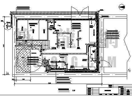 黑龙江某制药废水气浮加药设计施工图