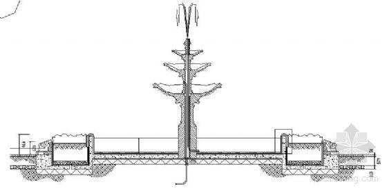 欧式喷泉平面图设计资料下载-7款喷泉设计大样图纸
