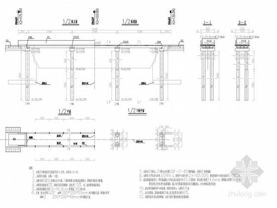 [湖北]3孔16米预应力混凝土空心板桥设计图纸33张(先简支后连续)