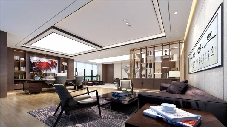 广州泰基工程办公楼装修设计-现代简约装修风格_7